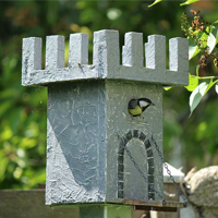 Make An Easy Coffee Can Bird House
