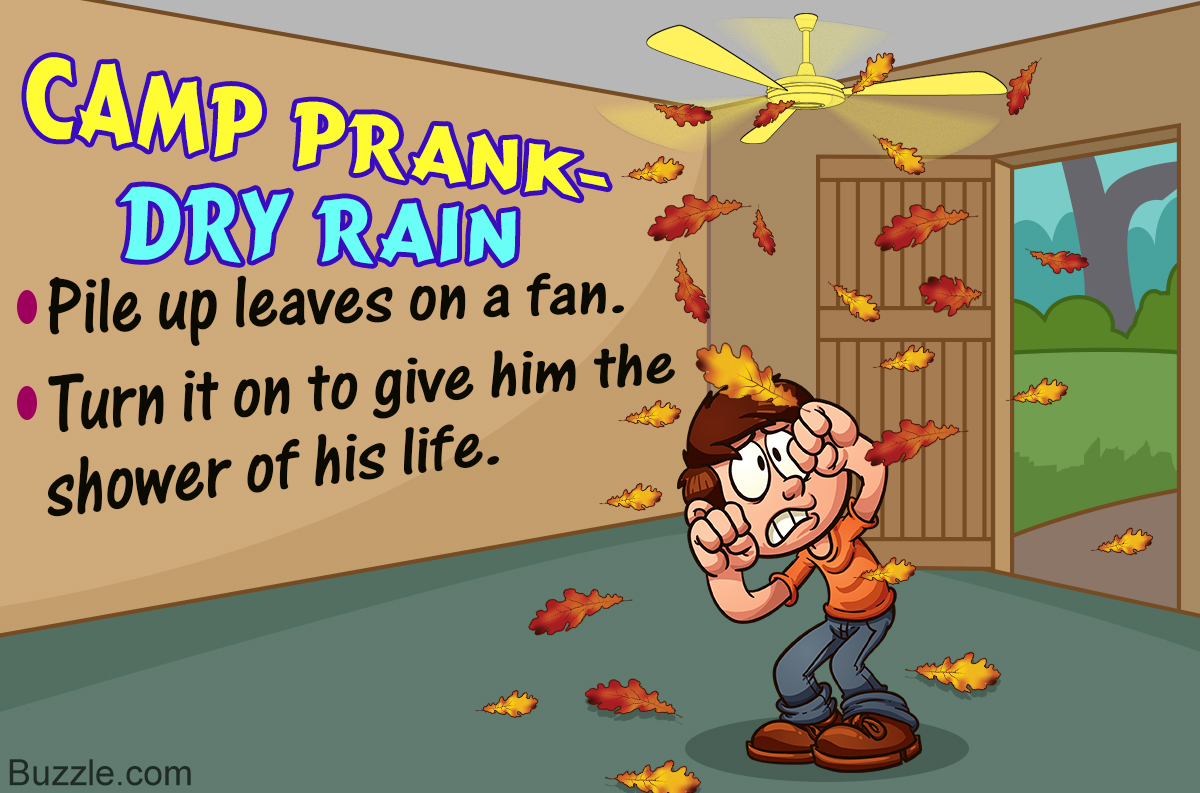 Hilariously Funny Camp Prank Ideas That are Just Perfect