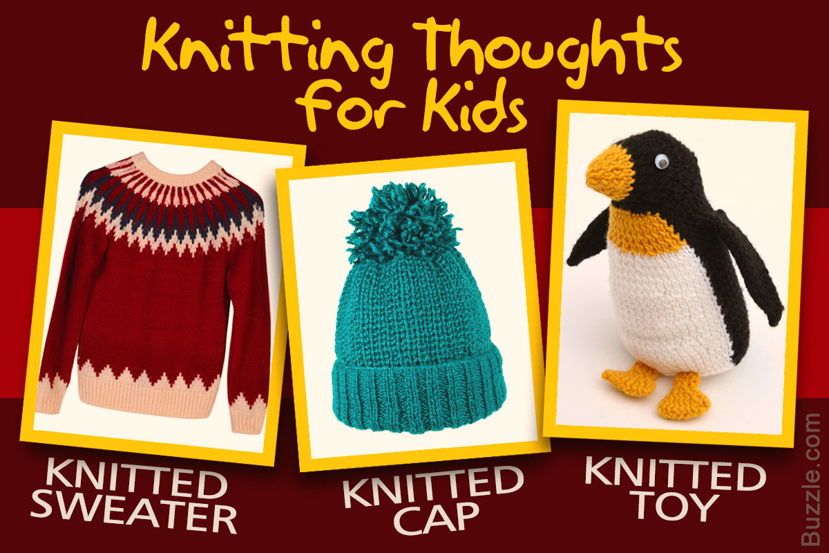 Cute and Adorable Knitting Patterns for Kids