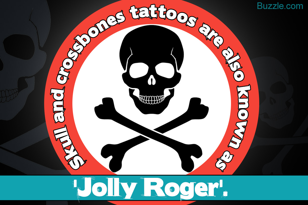 Skull and Crossbones Tattoos