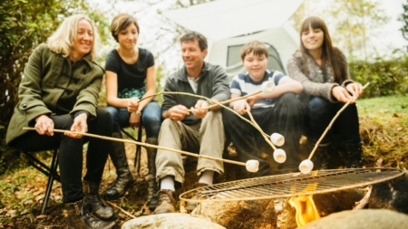 This Vacation, Do Some Family Camping the Old-fashioned Way