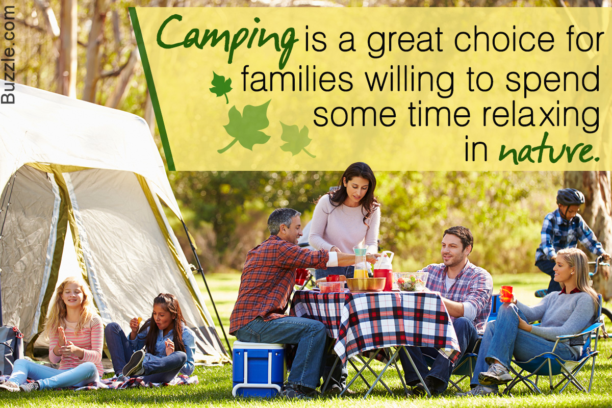 Here's How to Choose Camping as an Affordable Vacation Alternative