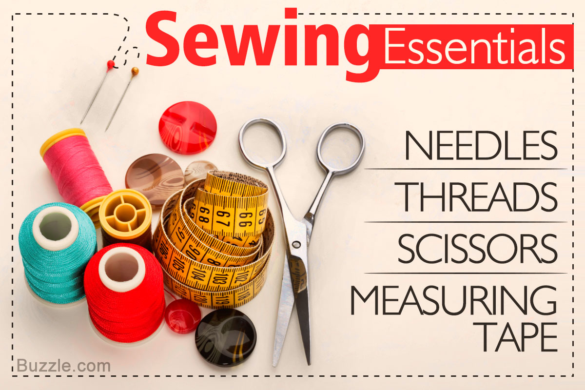 15 Absolutely Essential and Must-have Sewing Tools for Beginners