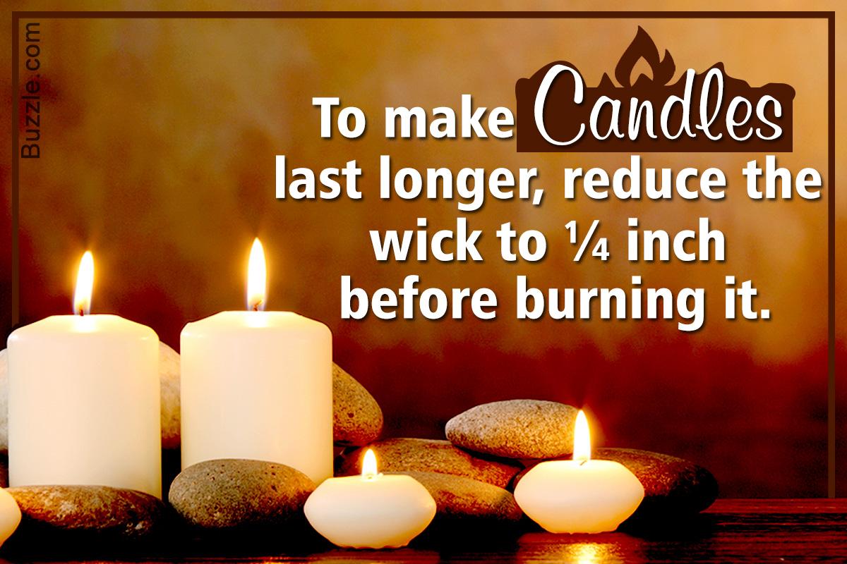 Super Helpful Hacks on How to Make Candles Last Longer