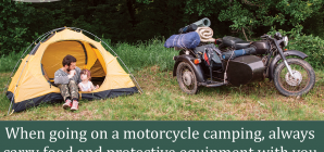 Essential Gear for Motorcycle Camping