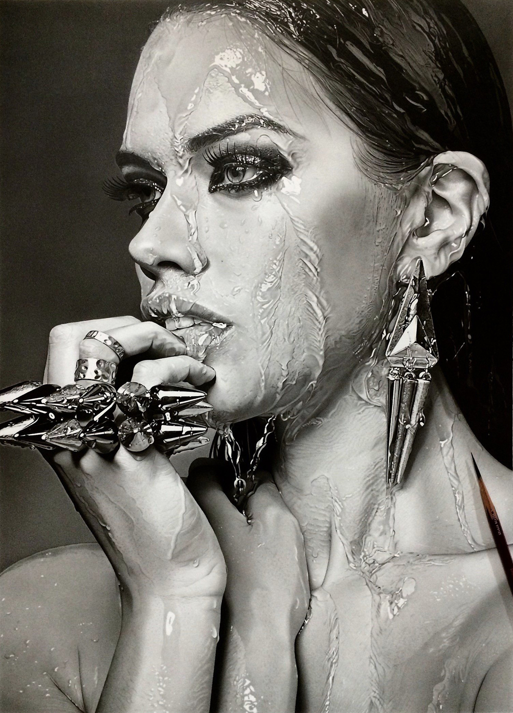Hyper Realistic Pencil Drawings by Kohei Ohmori