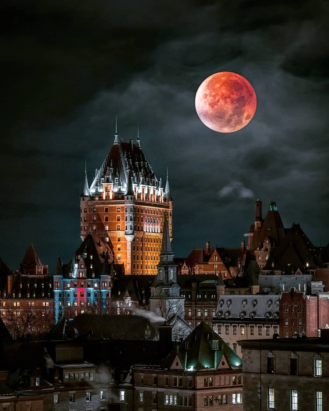 Blood Moon: Longest Lunar Eclipse in XXI Century