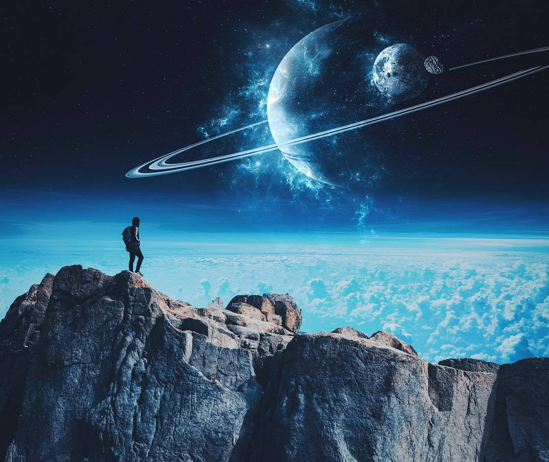 Dreamy Space Arts by Duks Visuals