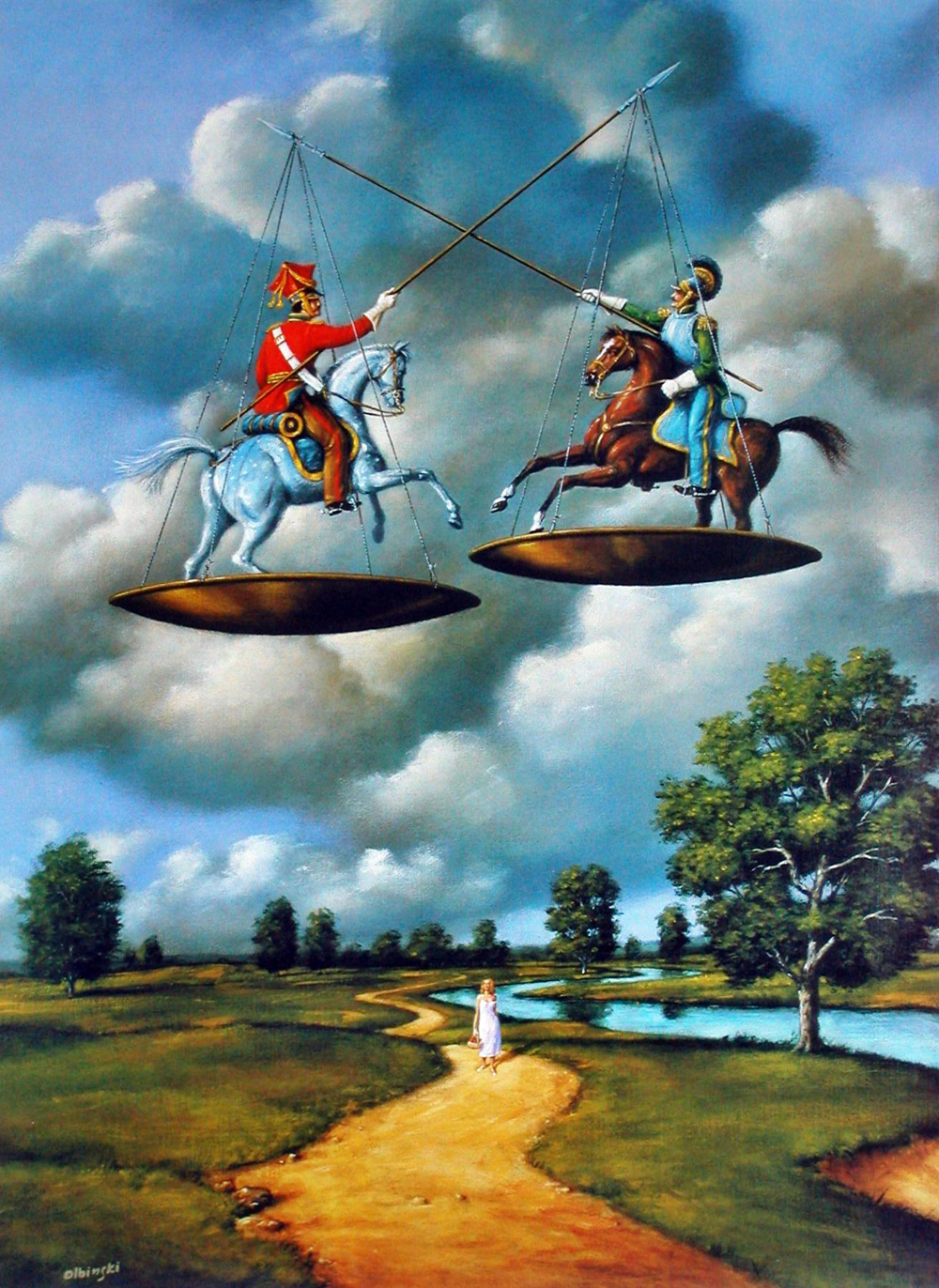 The Surrealist Art Of Rafal Olbinski