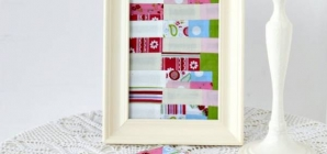 How To Frame A Mini Quilt Block
