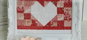 Amore- Free Valentine's Day Pattern