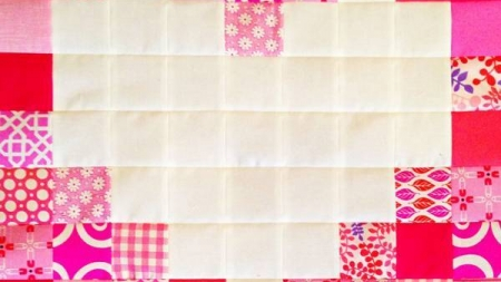 Valentines Day Heart Block Quilt Pattern