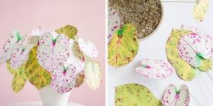 diy paper plant