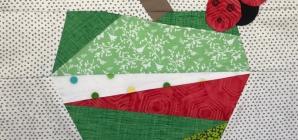 Quilting Pattern – Green Apple Block
