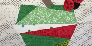 Quilting Pattern – Green Apple Block