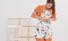 how to sew an apron in 10 minutes