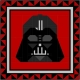 Quilt Block Pattern – Darth Vader