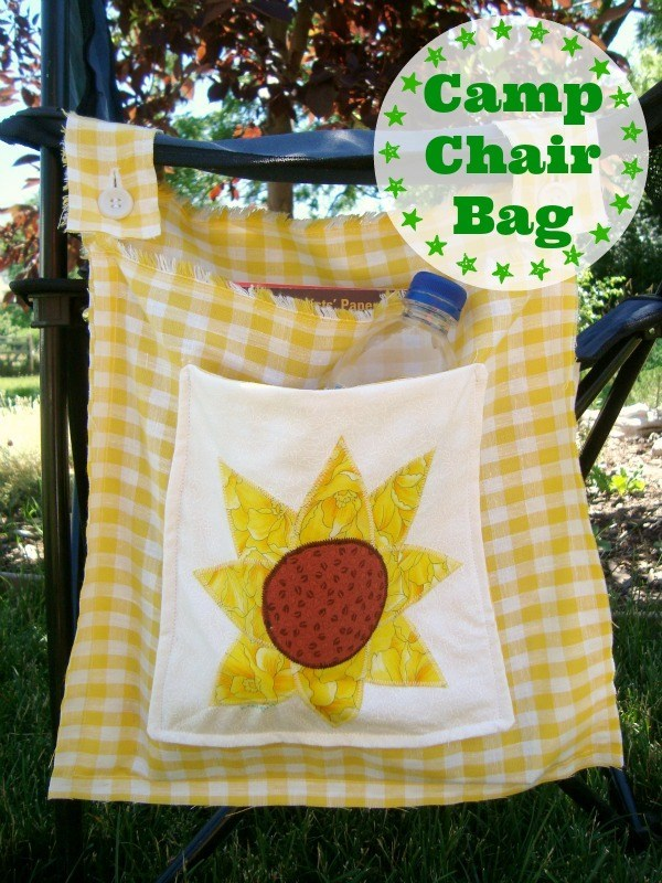 Orphan Block – Quilted Camp Chair Bag