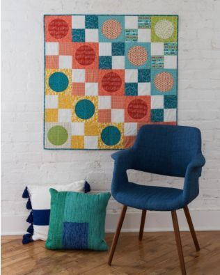 Free Quilting Pattern – Circle in a Square Wall Hanging