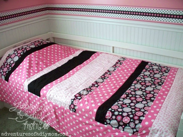 Quick and Easy Striped Quilt For Beginners