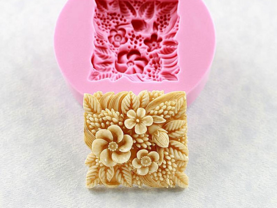 floral silicone mould