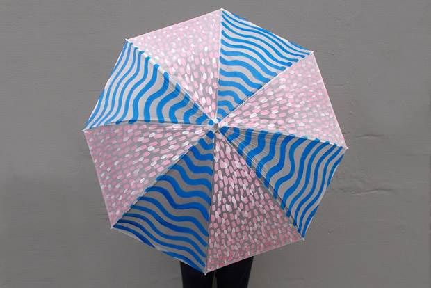 frankie exclusive diy: rain rain go away umbrella