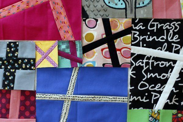 Quilt Pattern – Improv Quilt Block