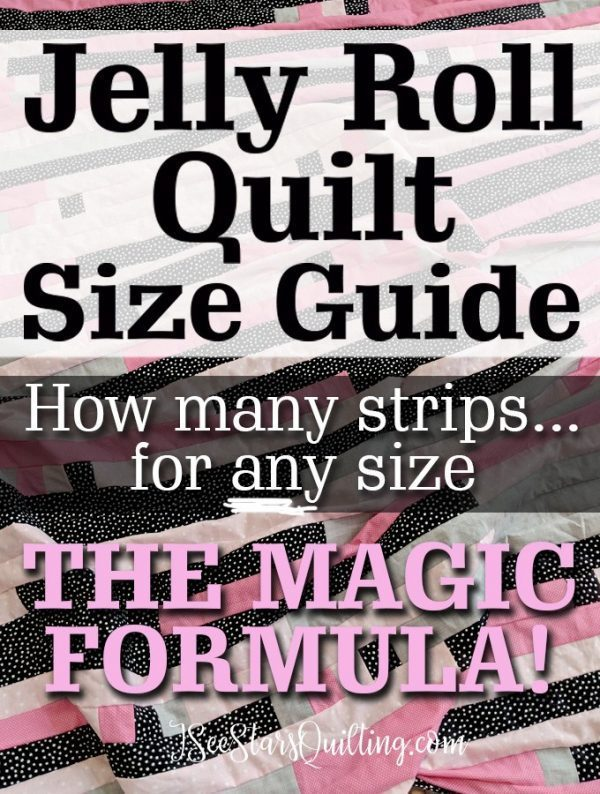 Size Guide – Jelly Roll Quilts