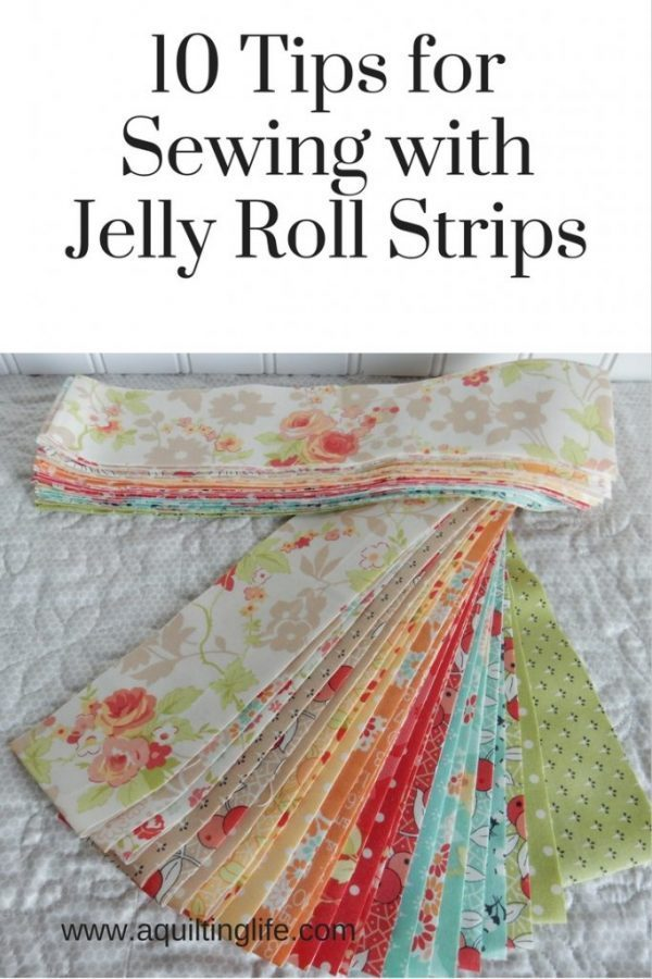 Tips For Working With Jelly Roll Strips