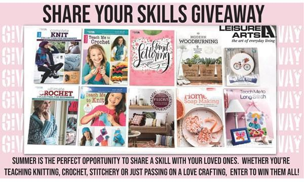 Share Your Skill Giveaway