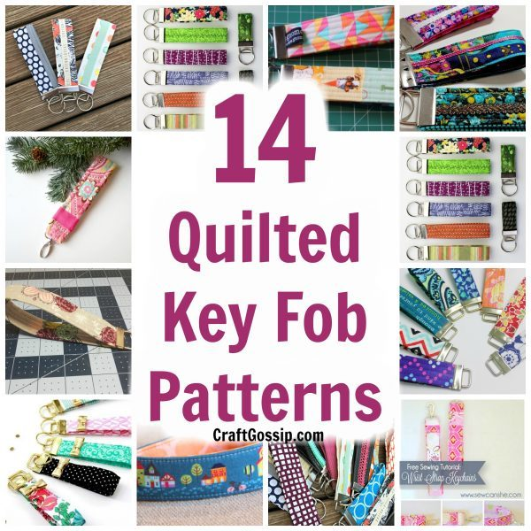 Free Quilted Fob Key Chain Patterns