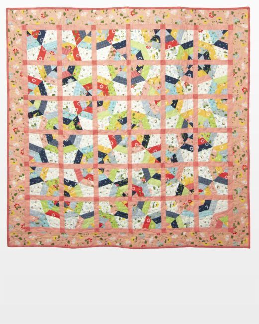 Free Quilt Pattern – Hollow Spider Web