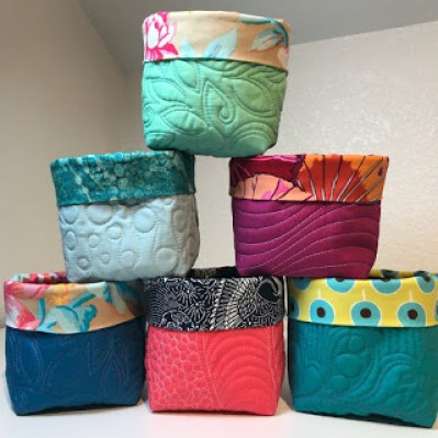 Free Quilted Pattern – Organization Bucket
