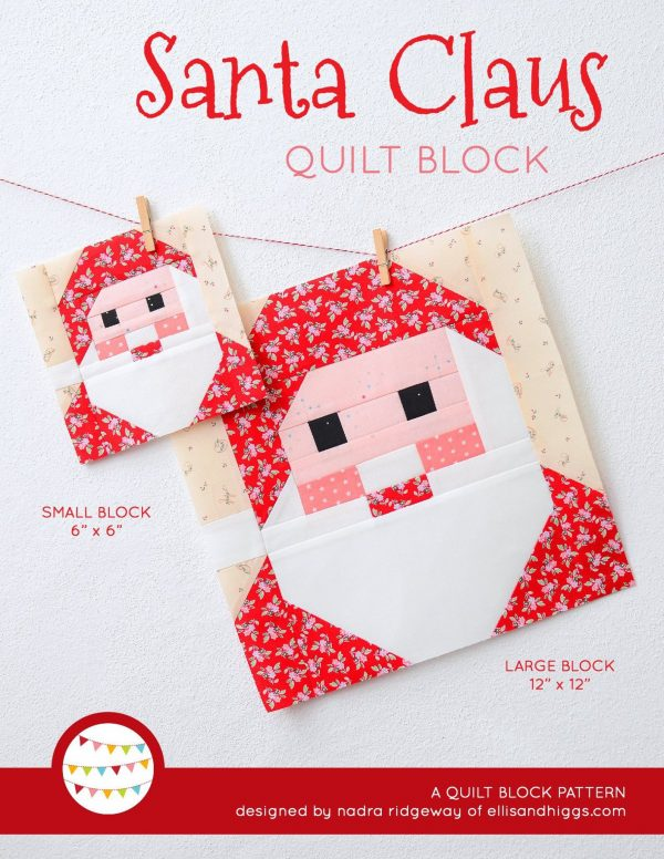 Etsy Feature – Santa Block
