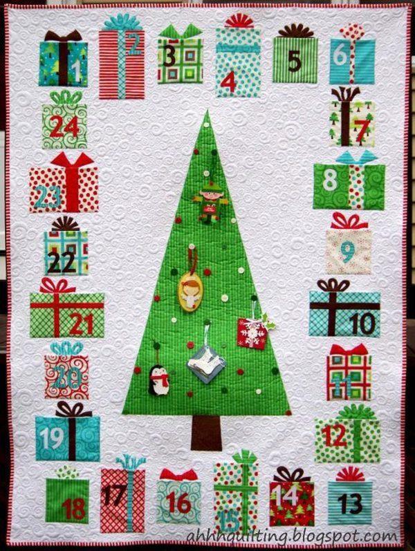 Etsy Feature – Advent Calendar Quilt Pattern
