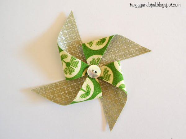 Pinwheel Bow/Ornament Tutorial