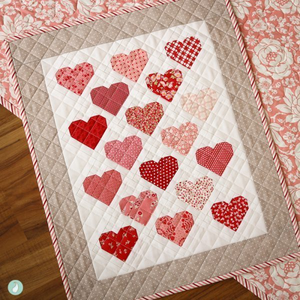 Down Memory Lane Mini PDF Quilt Pattern