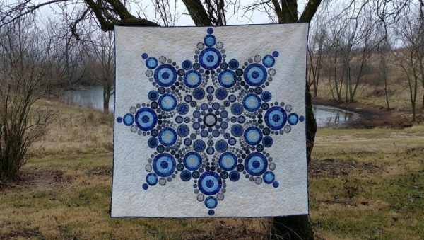 Etsy Feature – PDF Flurry Quilt Pattern