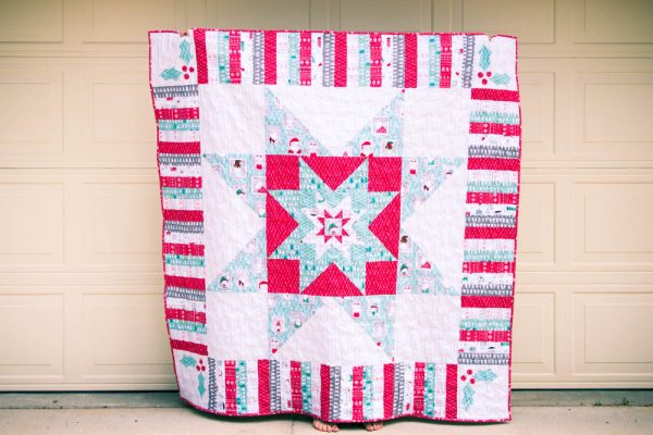 Quilting Pattern – The Merry Stars Quilt