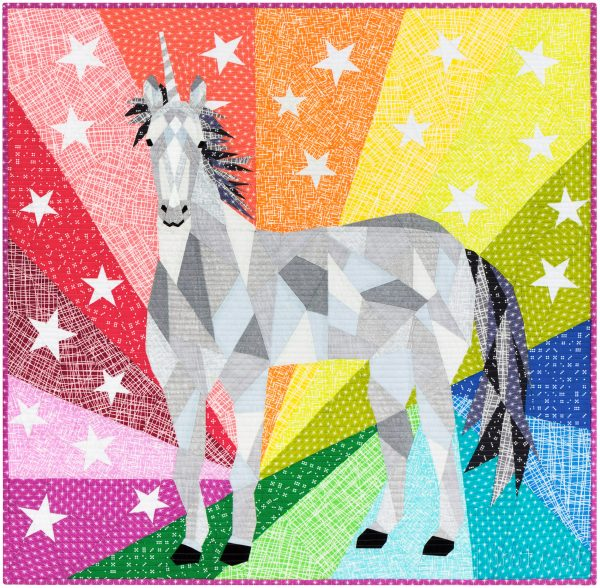The Unicorn Abstractions Quilt