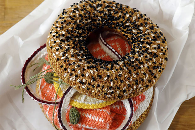 the crochet bagel bar