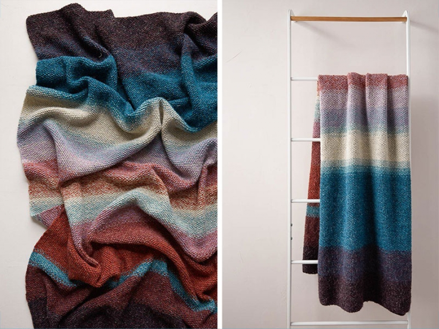 stuff mondays – diy blanket from purl soho