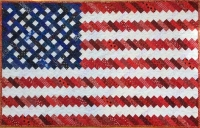 Quilting Pattern – 4th of July Patriotic Flag Quilt