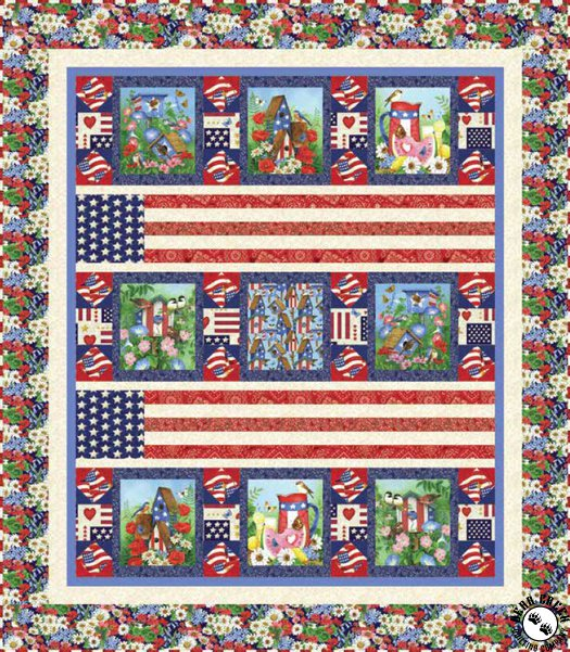 America The Beautiful Free Quilt Pattern