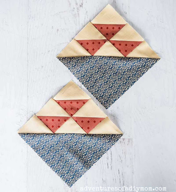 How To Make A Birds in the Air Quilt Block
