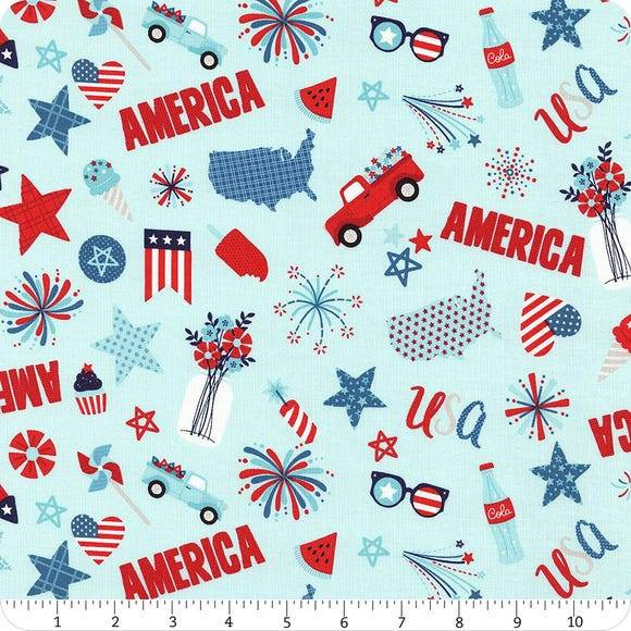 Patriotic Fabrics For Quilting and Sewing