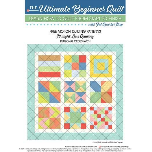 Free Motion Quilting Patterns Free PDF Pattern
