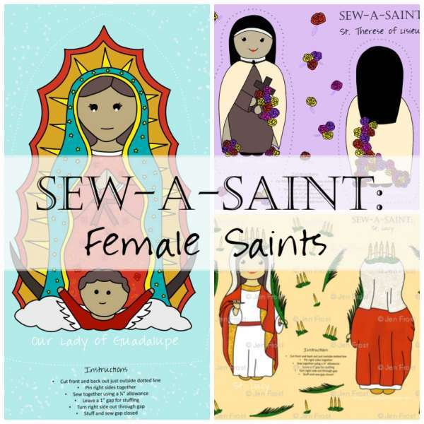 Sew a Saint Doll Female Saints