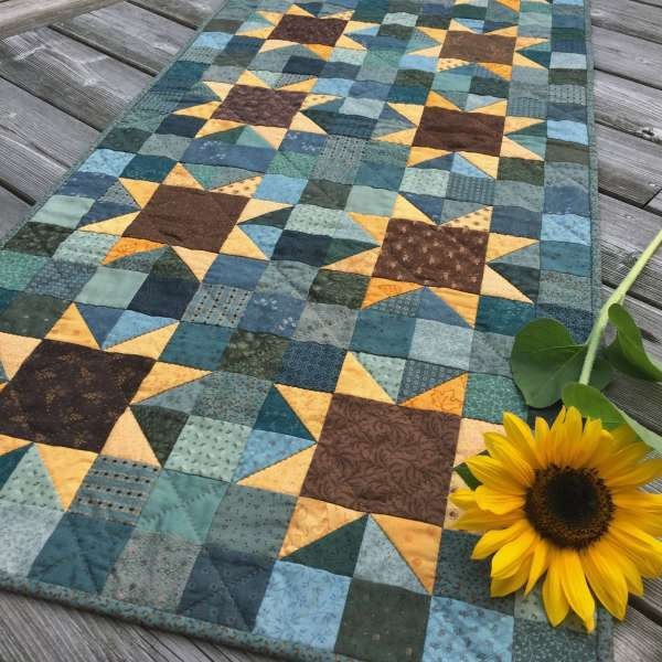 Sunflowers Quilt Pattern PDF by Jen Daly Quilts