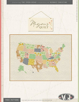 Quilt Pattern – United States Of America